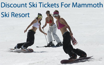 mammoth ski resort discount ski tickets and by owner lodging